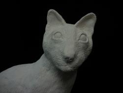 Papier Mache' Cat