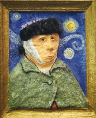 Papier Mache' Van Gogh